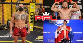 Anthony Pettis Sick With PFL Logo And Schulte Vs Martinez