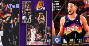 Suns Vs Clippers With Devin Booker Triple Double