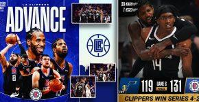 LA Clippers Advance Win Series