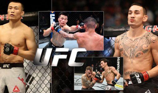 Chan Sung Jun Vs Max Holloway UFC
