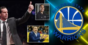 Golden State With Atkinson And Milojevic And Mahlalela Assistant Coaches