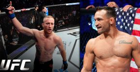 Justin Gaethje And Michael Chandler UFC