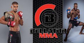 Douglas Lima Vs Michael Page With Bellator Logo