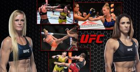 Holly Holm Vs Norma Dumont With UFC Logo