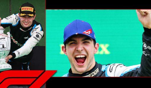 Esteban Ocon F1 Win