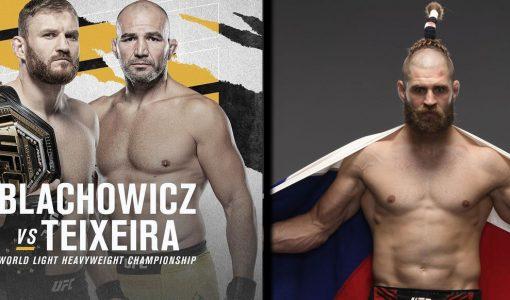Blachowicz Vs Teixeira With Jiri Prochazka