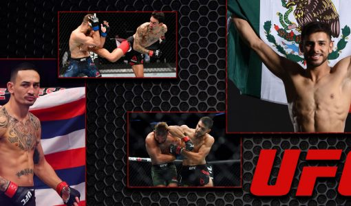 Max Holloway Vs Yair Rodriguez UFC