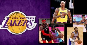 Lakers Background With Howard And Ariza And Ellington And Bazemore