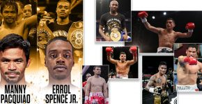 Pacquiao Vs Spence With Undercard Fights